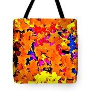 Cubist Tesseract Tote Bag