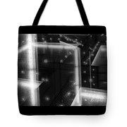 Cubistic Aspect Of Reflective Light Tote Bag