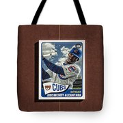 Cubs Card Collection Tote Bag