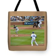 Cubs - Eye On The Ball Tote Bag