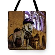 Cubs Lion Hearts Tote Bag
