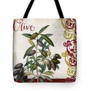 Cucina Italiana Olives Tote Bag