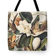 Cuckoo On Magnolia Grandiflora Tote Bag