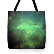 Cuda In The Water Tote Bag