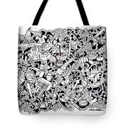 Cuddlebear Tote Bag