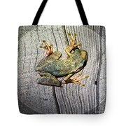 Cudjoe Key Frog Tote Bag