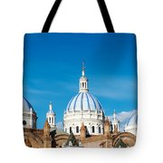 Cuenca Cathedral Domes Tote Bag