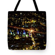 Cuenca's Historic District At Night Tote Bag