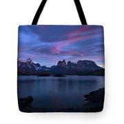 Cuernos Sunrise Part 1 - Chile Tote Bag