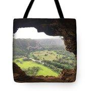 Cueva Ventana Tote Bag