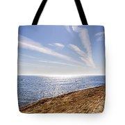 Cullercoats Pier Tote Bag