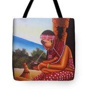 Cultural Drawings Tote Bag
