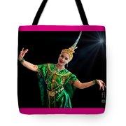 Cultural Thai Dance Tote Bag