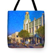 Culver City Plaza Theaters   Tote Bag