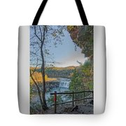 Cumberland Falls Ky From Eagle Falls Trail Tote Bag