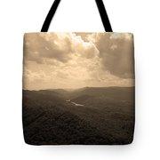 Cumberland Gap - Kentucky Sepia Tote Bag
