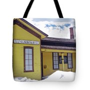 Cumbres Train Station Tote Bag