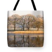 Cumbria, England Lake Scenic With Tote Bag