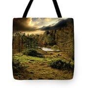 Cumbrian Drama Tote Bag by Meirion Matthias