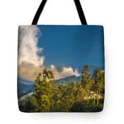 Giant Over The Mountains Tote Bag