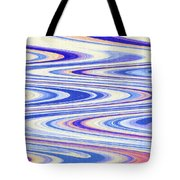 Cumulus Clouds And Blue Sky Abstract Tote Bag