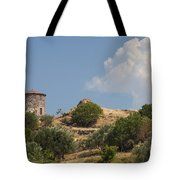 Cunda Island Greek Windmill Tote Bag