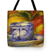 Cup And Fruit Tote Bag