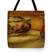 Cup Lemon And Tomato Tote Bag