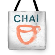 Cup Of Chai- Art By Linda Woods Tote Bag