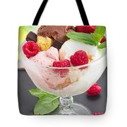 Cup Of Icecream Tote Bag