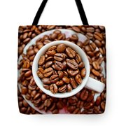 Cup Of Raw Coffee Tote Bag