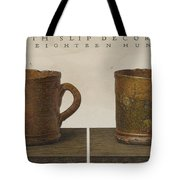 Cup With Slip Decoration Tote Bag