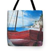 Cupecoy Beach Tote Bag