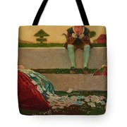 Cupid And Campaspe Tote Bag
