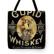 Cupid Whiskey Tote Bag