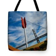 Cupids Bow And Arrow Tote Bag
