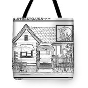 Cuppers Coffee House Tote Bag