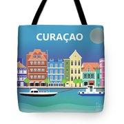 Curacao Horizontal Scene Tote Bag