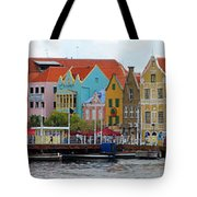 Curacao Willemstad Panorama Tote Bag