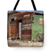Curacao Wooden Shack  Tote Bag