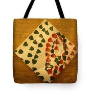Curiosity  - Tile Tote Bag