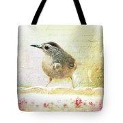 Curious Catbird Tote Bag