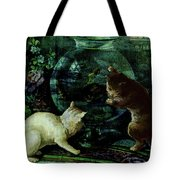 Curious Kittens Tote Bag
