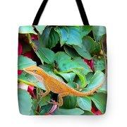 Curious Lizard Tote Bag