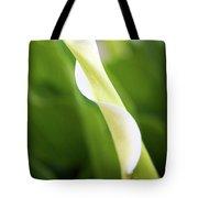 Curled Calla Tote Bag