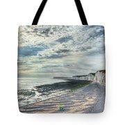Curling Cliffs Tote Bag