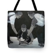 Curling Tote Bag by Richard Le Page
