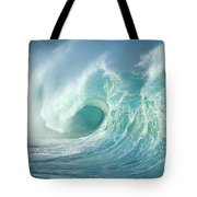 Curling Wave Tote Bag