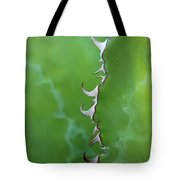 Curly Agave Tote Bag