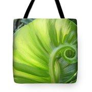 Curly Leaf Tote Bag